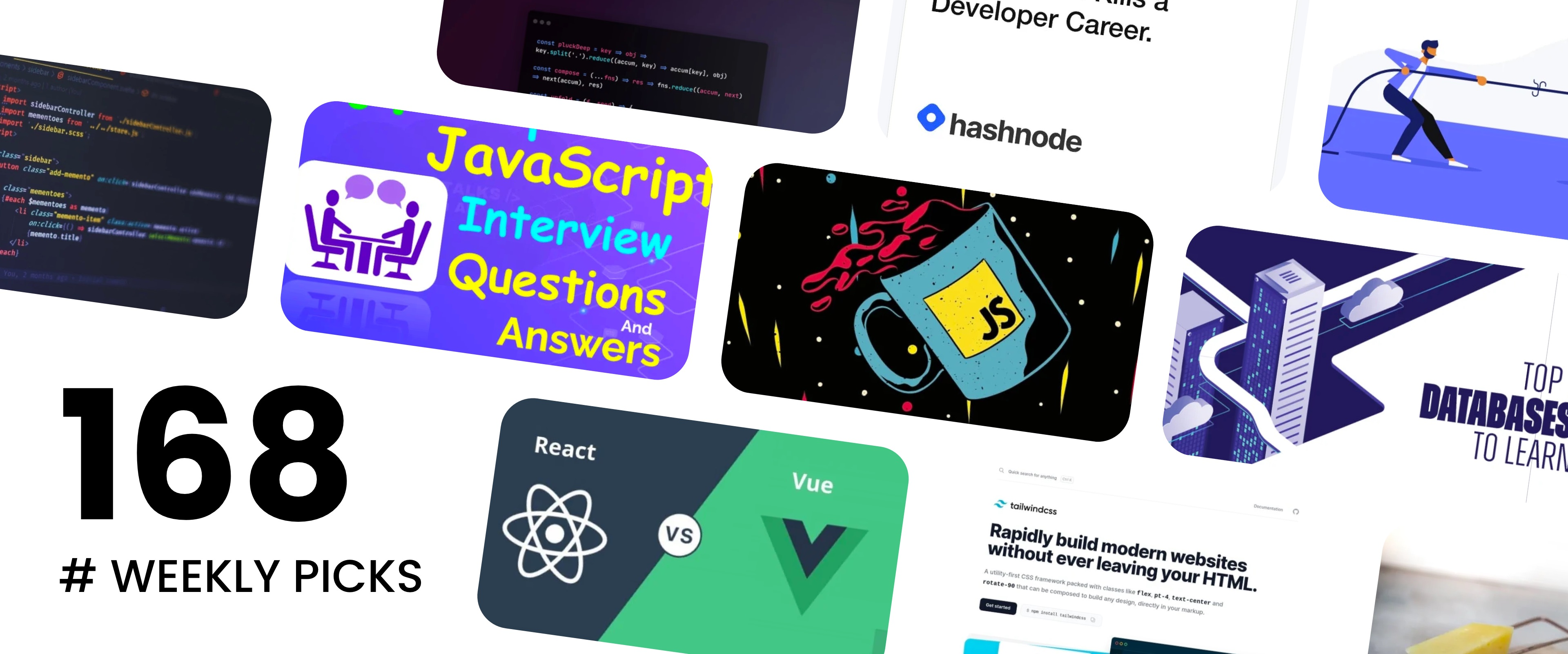 Habits That Kill Your Career, Vue.js vs React, Technical Interview Questions - Picks #168