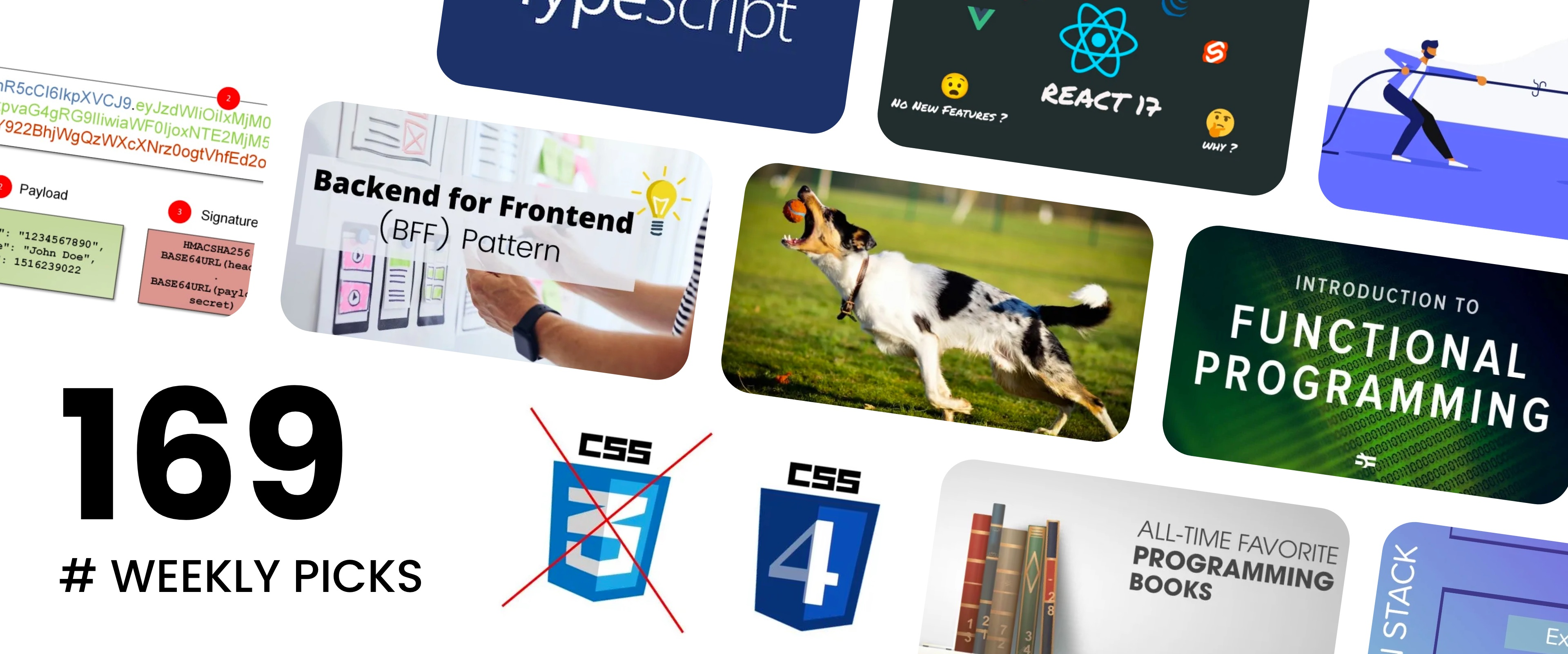Meet the HERN Stack, TypeScript 4.2, CSS4, 10 All-time favorite books - Picks #169