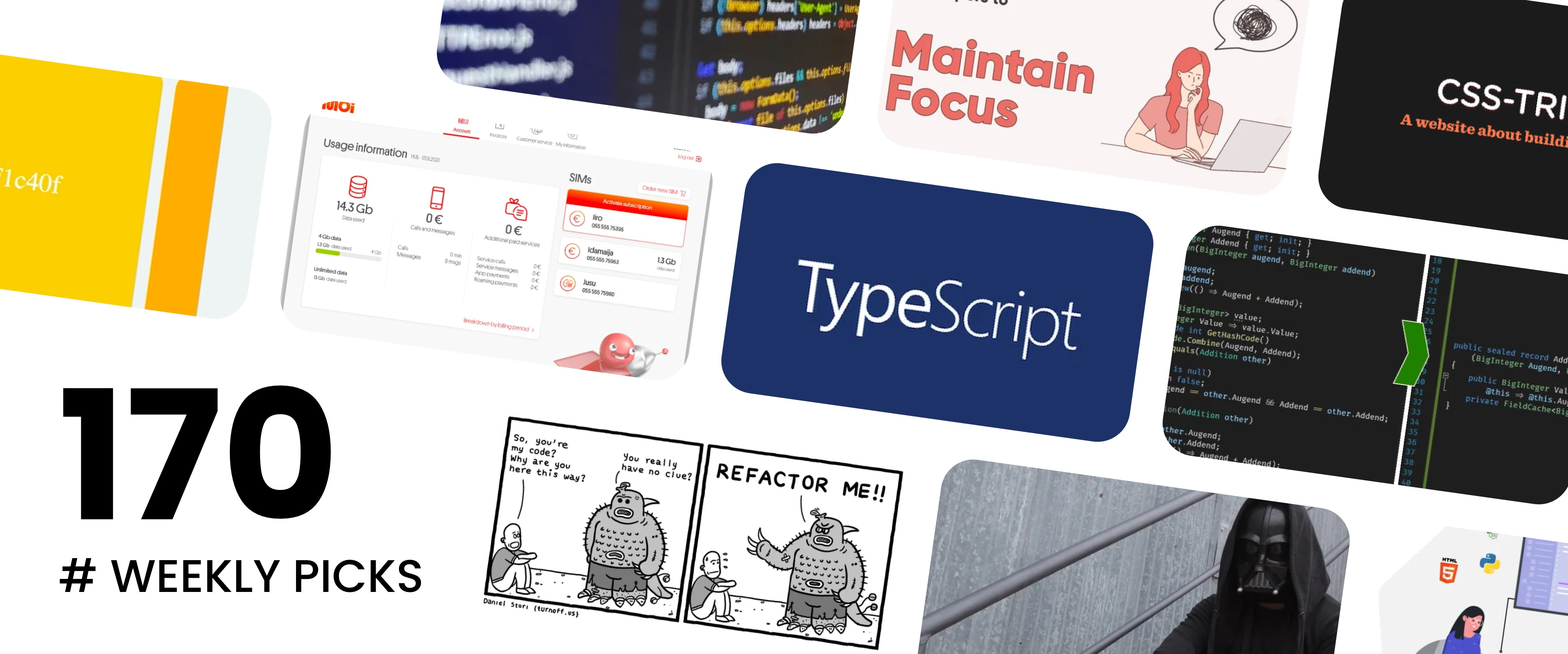 The Dark Side of Javascript, Guide to Code Refactoring, Lazy Properties Are Good - Picks #170