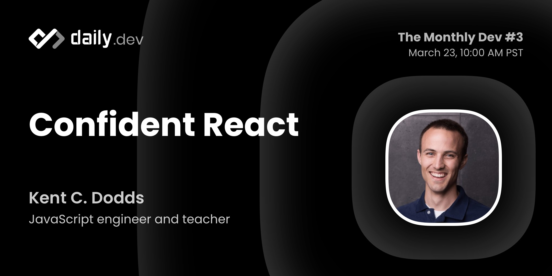 Confident react cover image