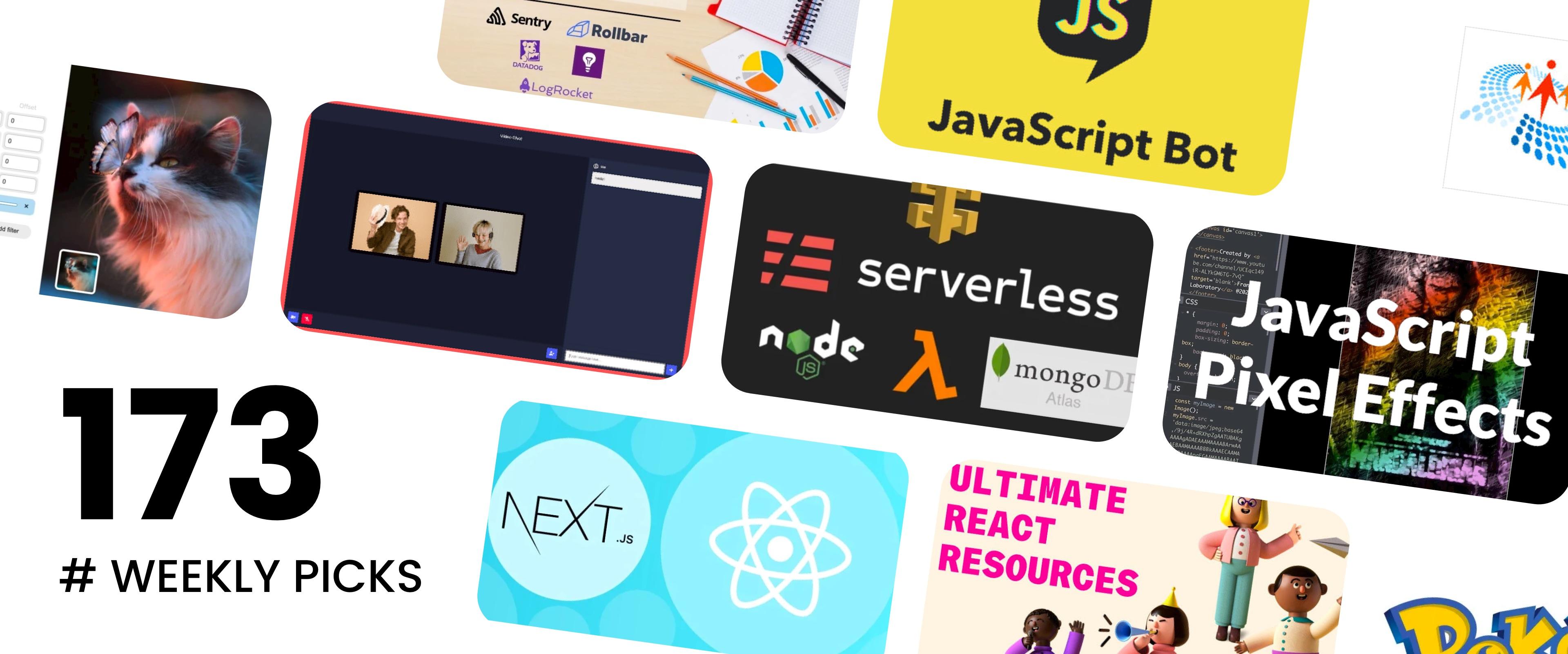 JavaScript Bot, SVG Generators, Building a Video Chat App - Picks #173