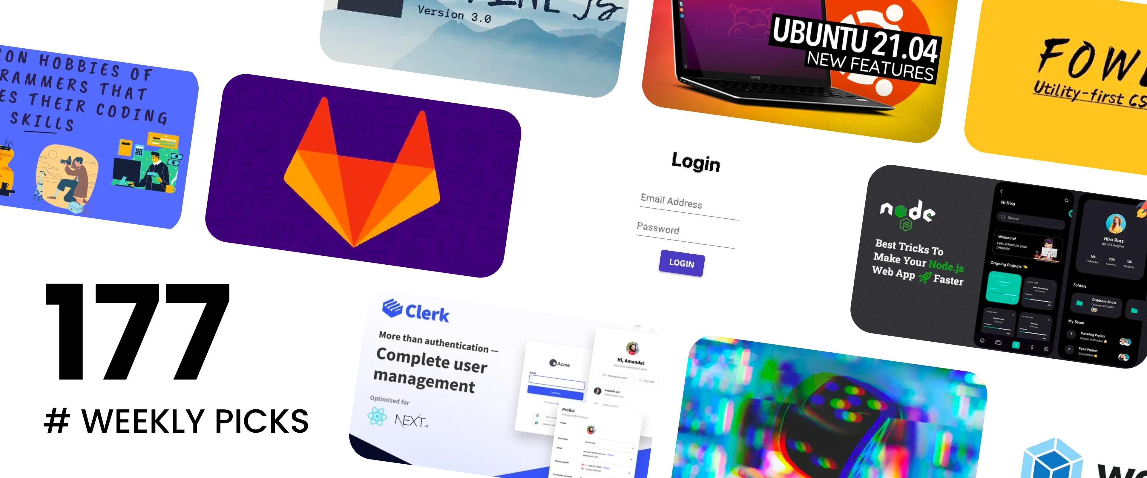 Alpine.js v3, Ubuntu 21.04, Fower v1 - Picks #177