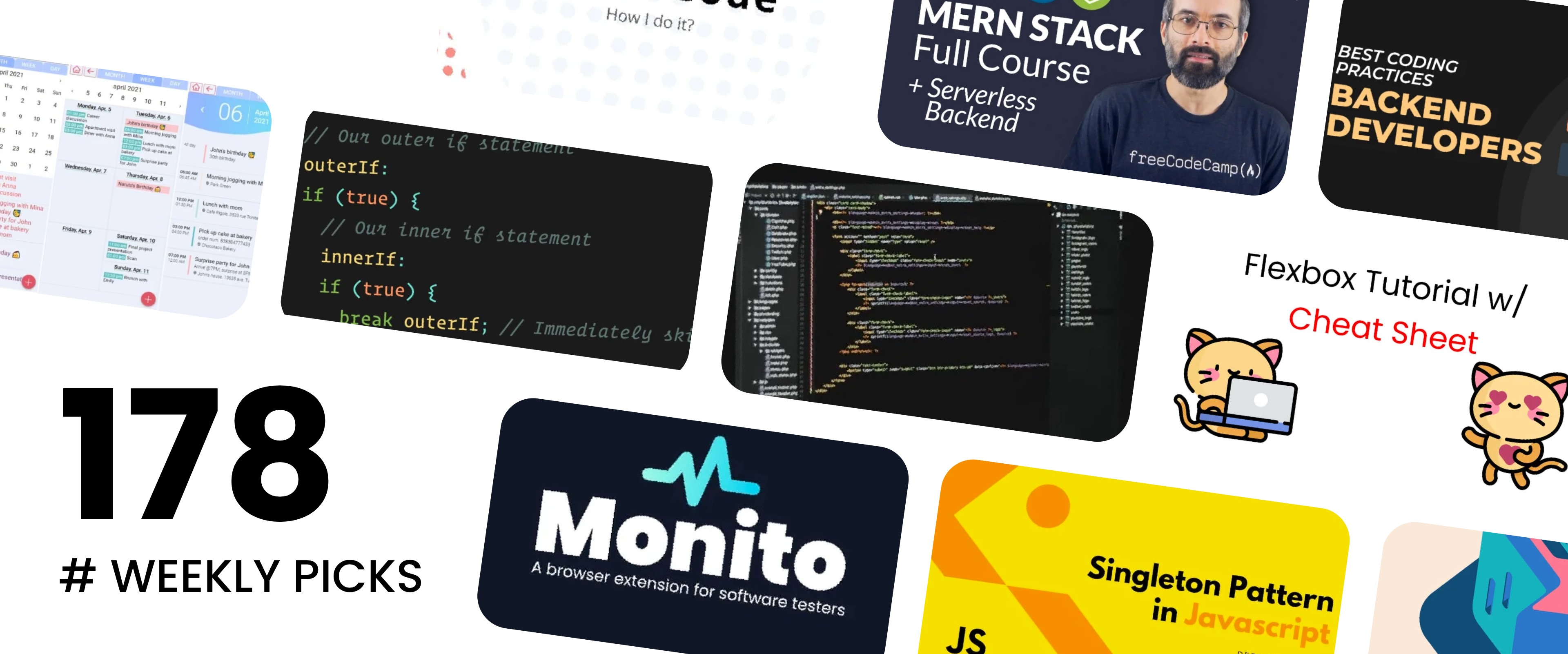 Coding Practices, MERN Stack, Working With TypeScript - Picks 178