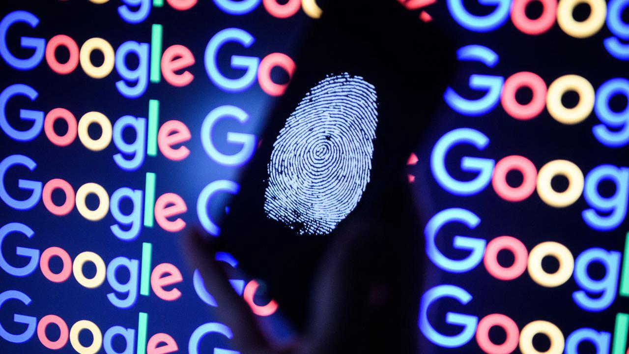 Google with biometric sign