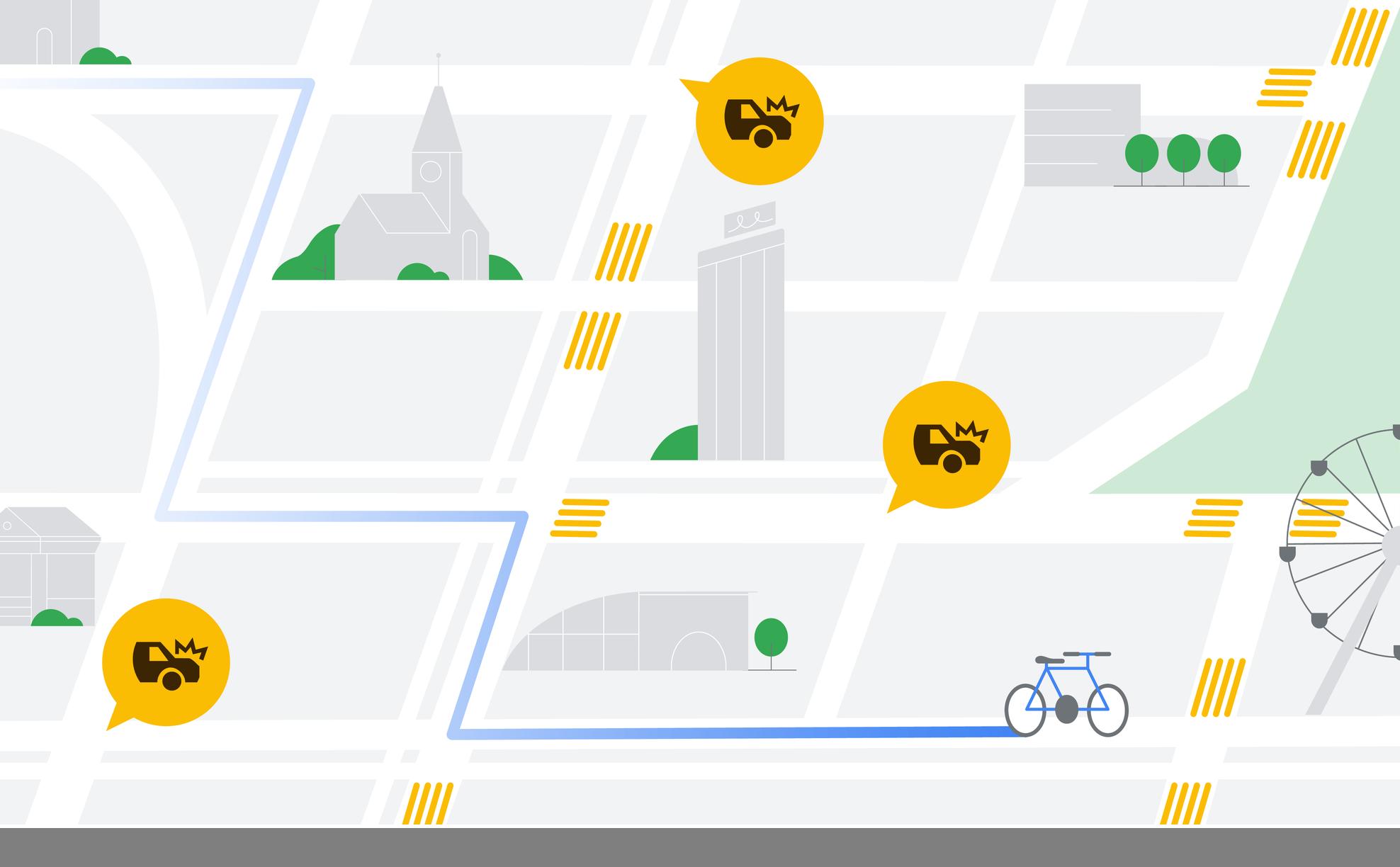 safer routing illustration