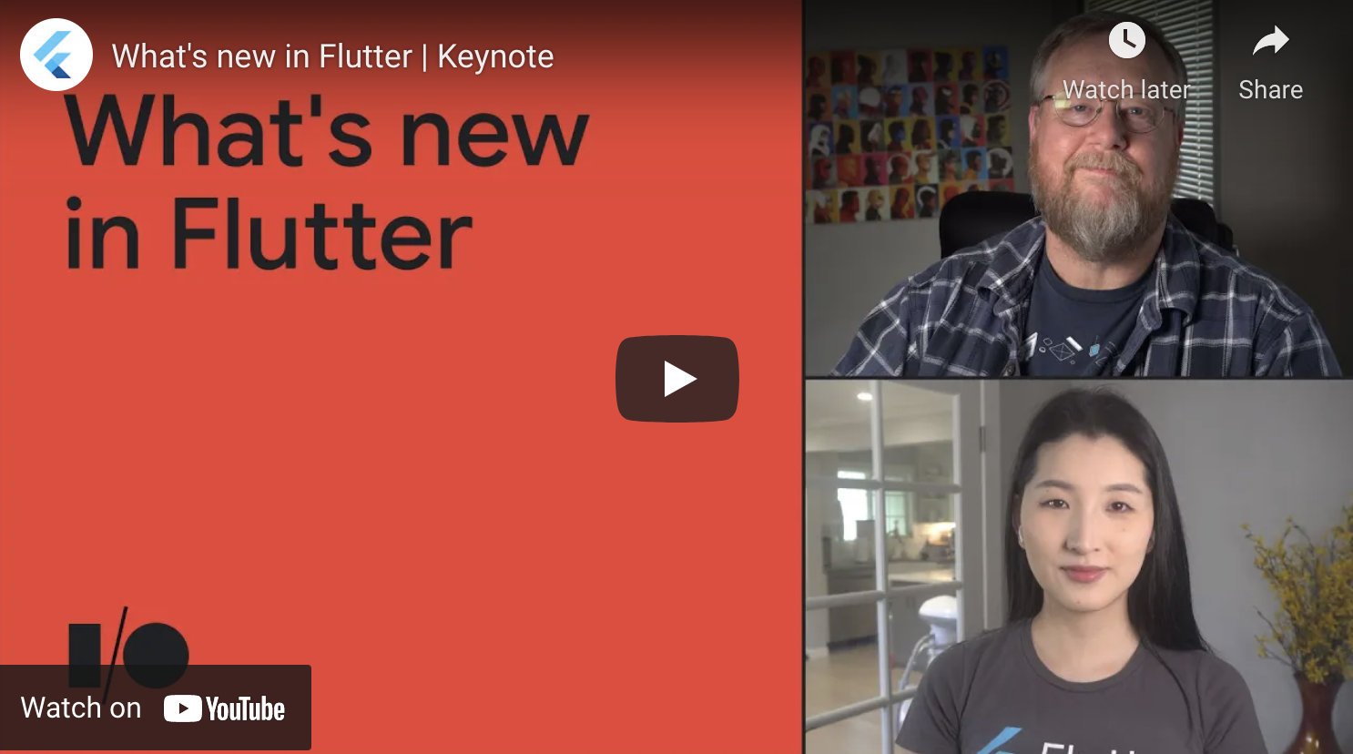 What's new in Flutter