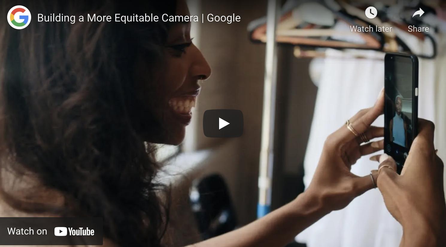 Building a more Equitable camera