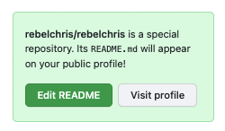 Creating a GitHub profile