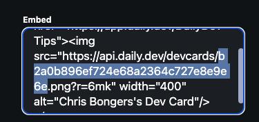 DevCard unique ID