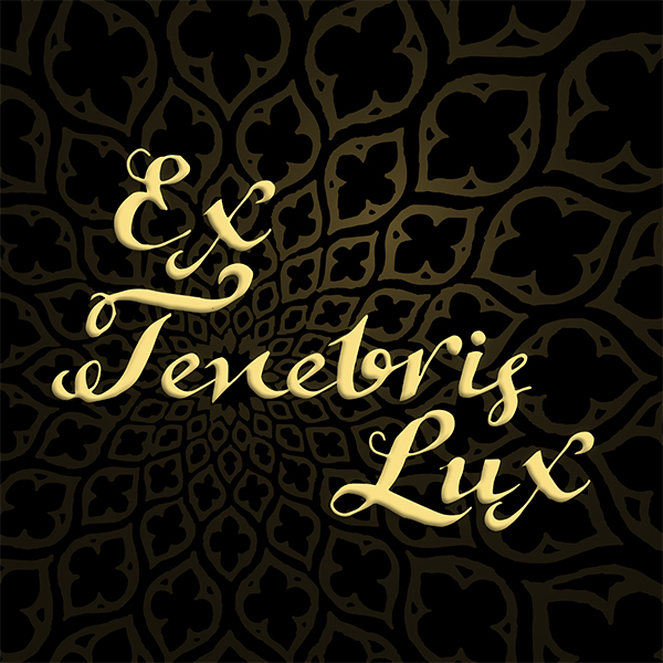 "Rob Flax: ""Ex Tenebris Lux"" - Lyric video and custom font"