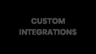 Custom Integrations logo