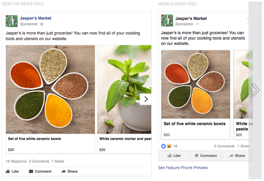 Working with Driftrock - Facebook Ad Creative and Copy