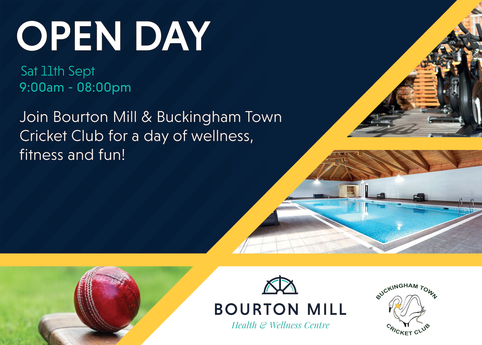 Bourton Mill and Buckingham Town Cricket Club Open Day!