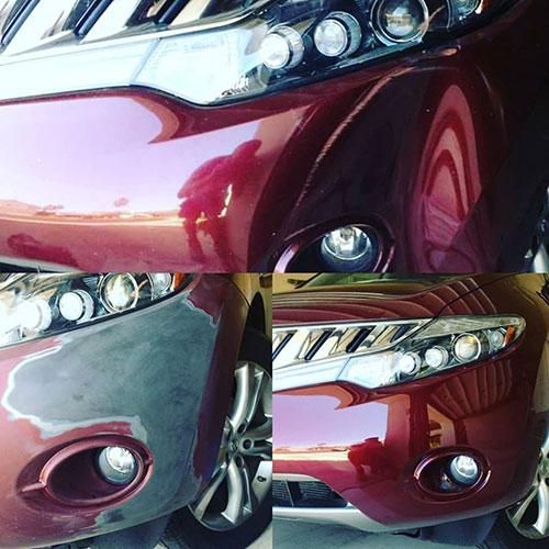 bumper repair project in phoenix