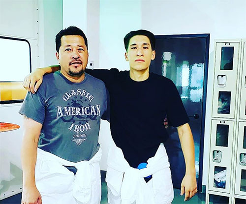 touch up team father son family owned son team