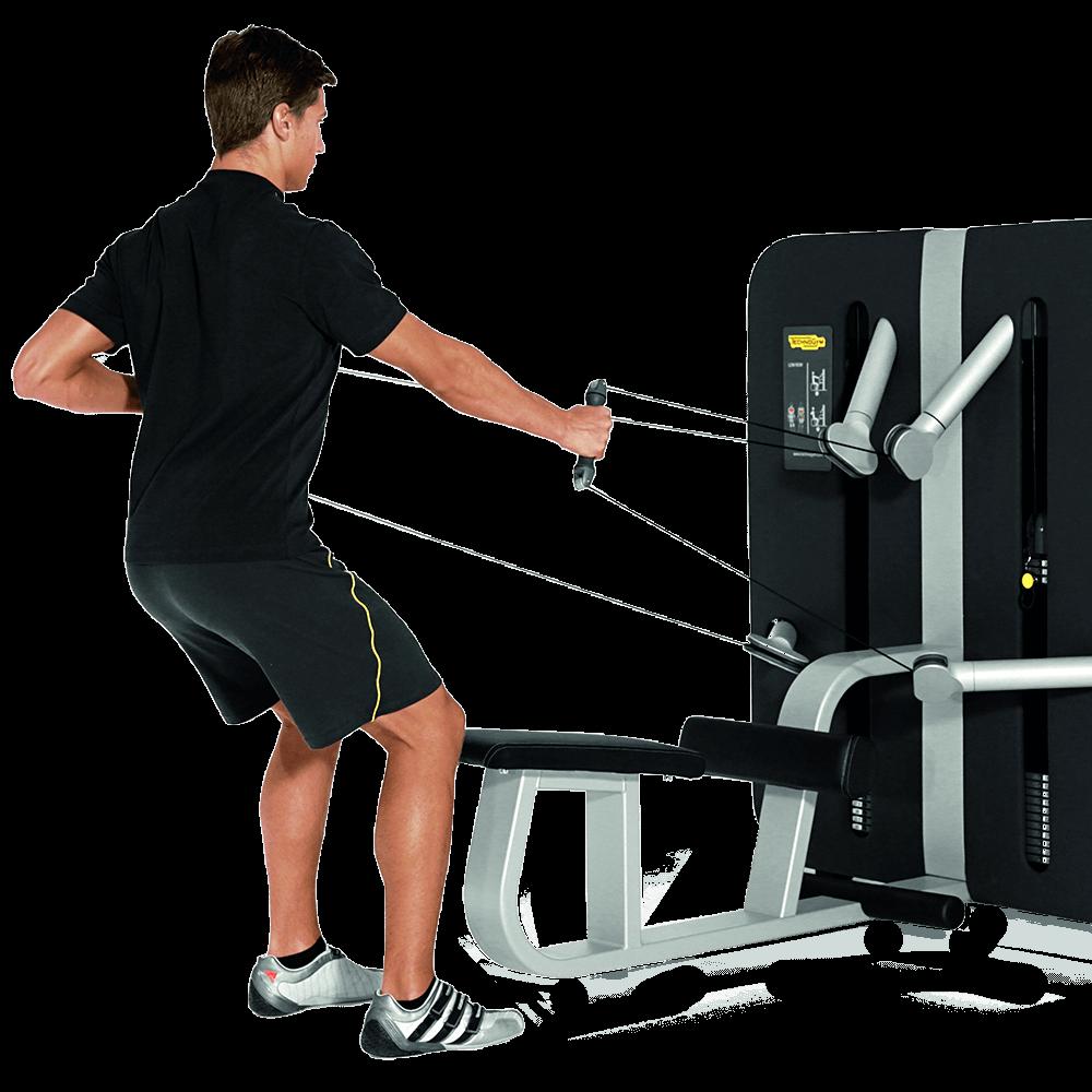 Bild eines Mannes an einem Fitnessgerät