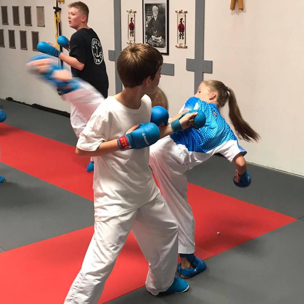 Bild vom Karatetraining