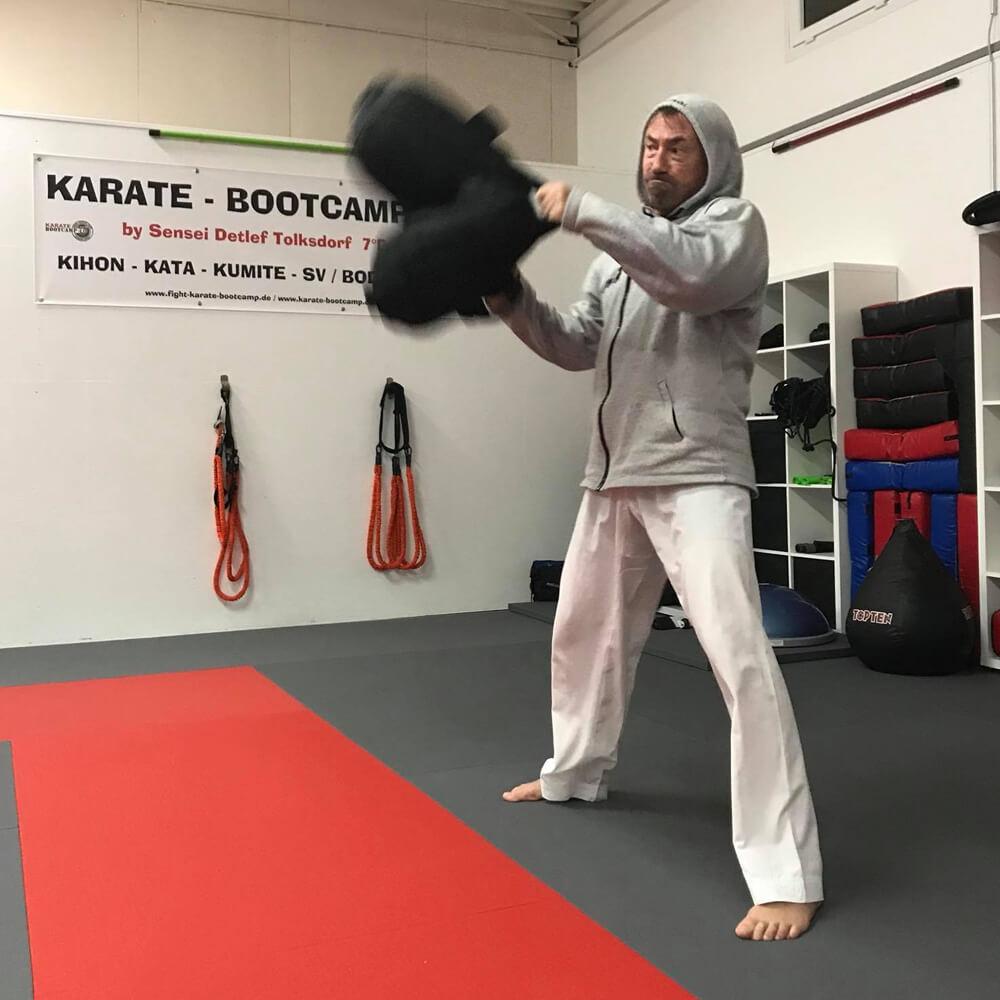 Bild von Detlef Tolksdorf beim Training