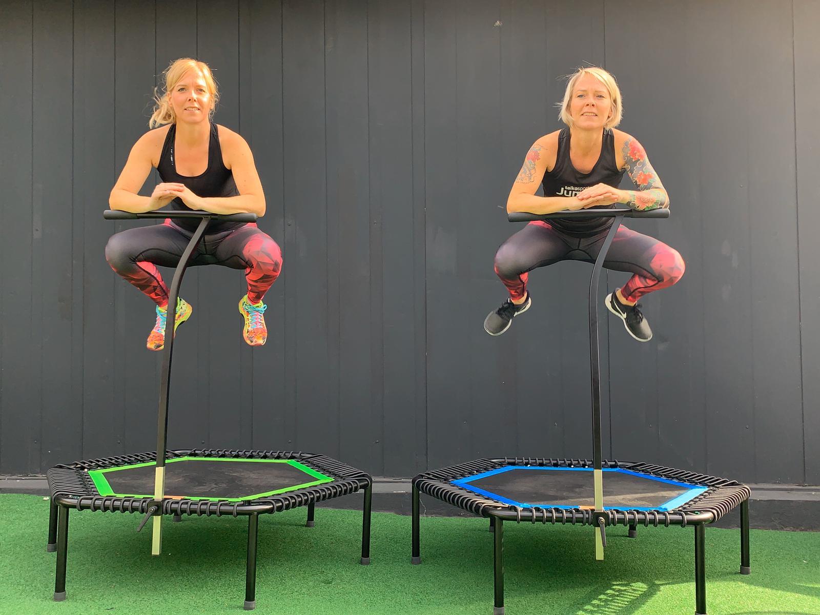Bild der Jumping Fitness Instruktoren