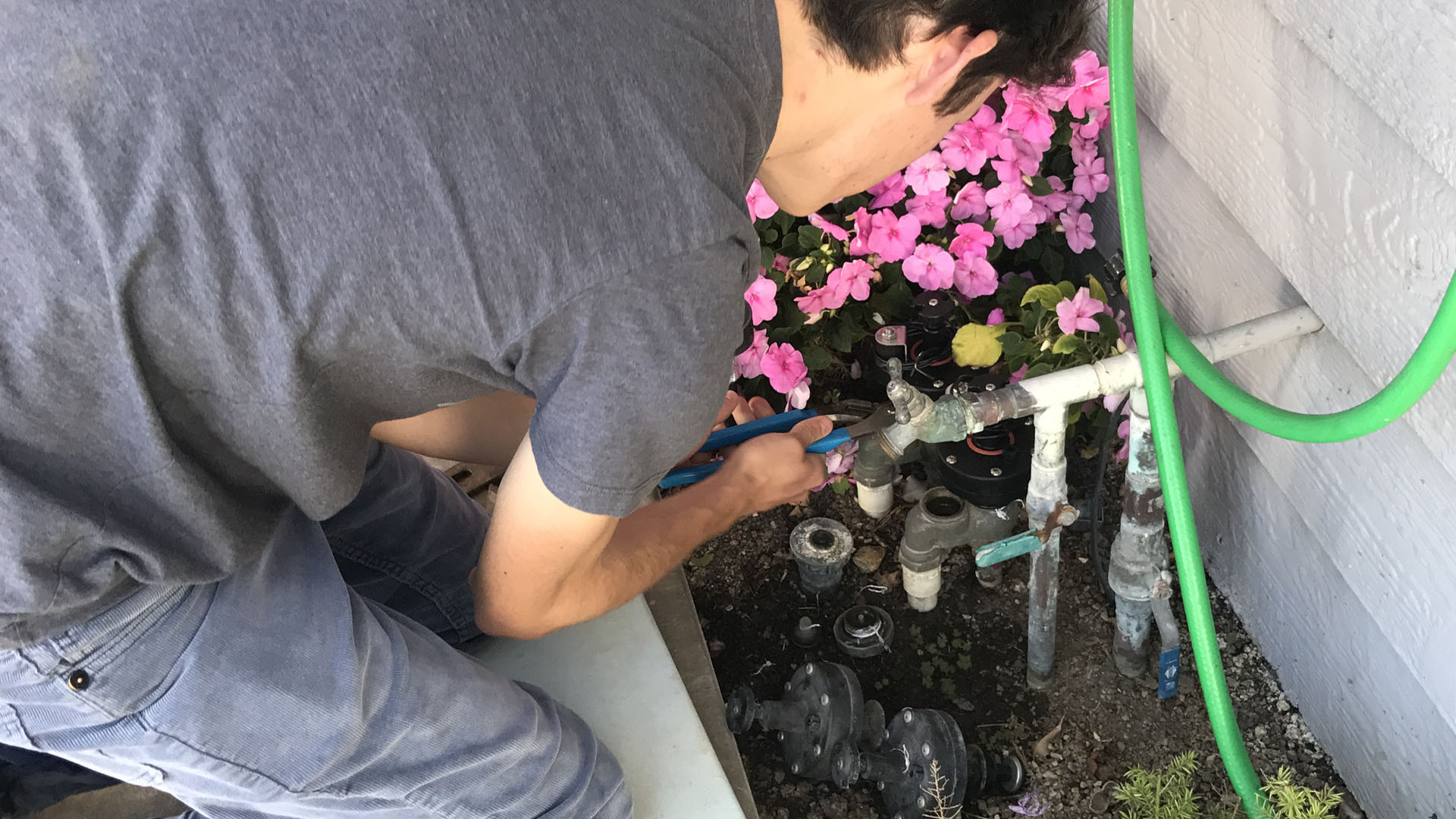 Drainage System Installation