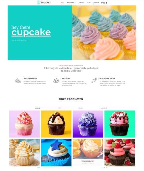 voorbeeld producten template van websitetijd