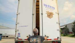 McElroy Packaging Fleet & Friendly Delivery Crew