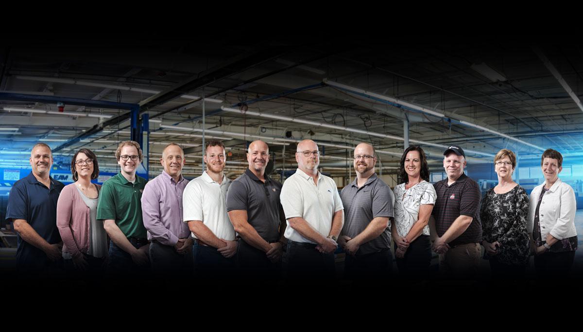 McElroy Packaging Team