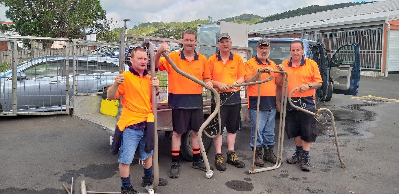 IDEAS Services team enjoy Metal Works vocational programme in Whangarei