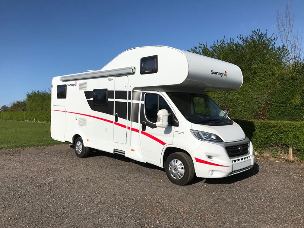 A Parked Up Motorhome