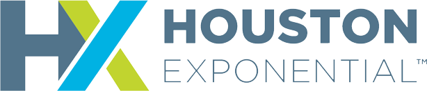 The Houston Exponential logo