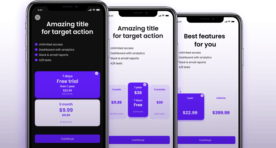 Price testing for in-app purchases
