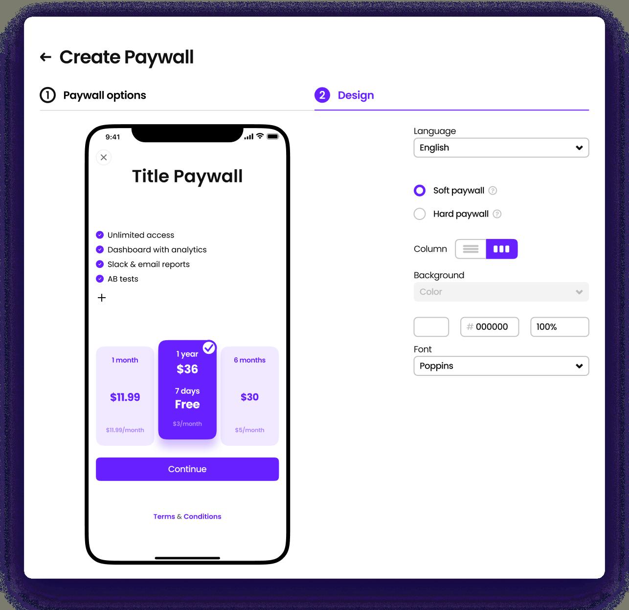 Paywall Editor