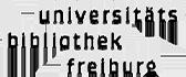 Logo: Universitätsbibliothek Freiburg
