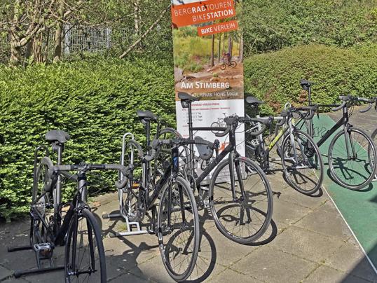 Bikestation am Stimberg Rennrad Verleih