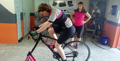 Bikefitting im Prozess