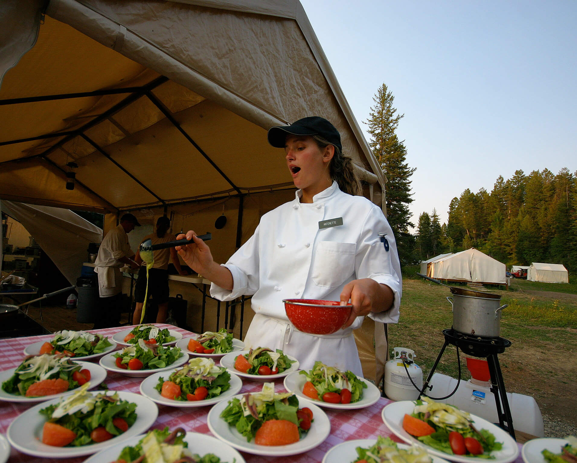 Catering in the Mountains