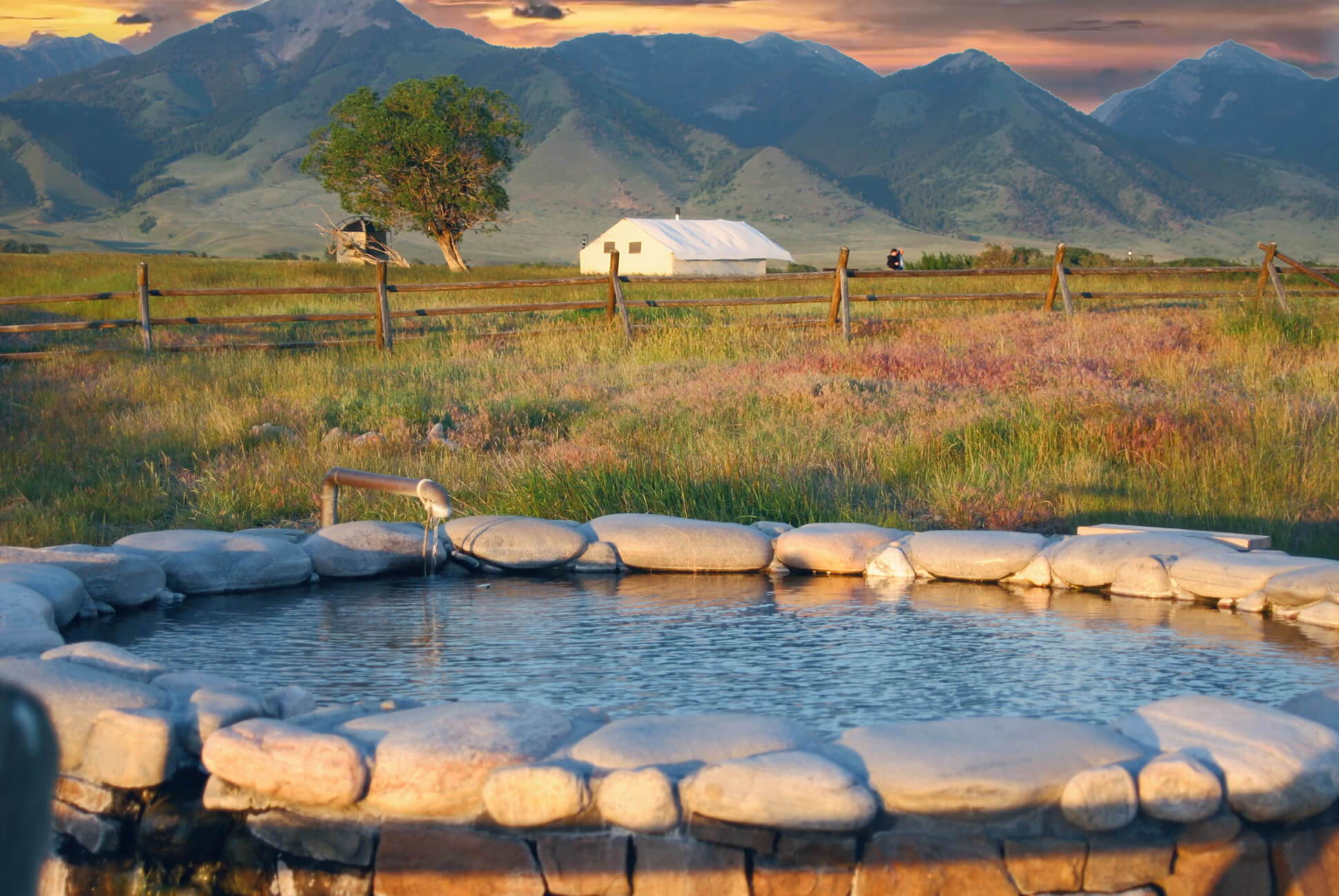 Hot Springs Montana Glamping
