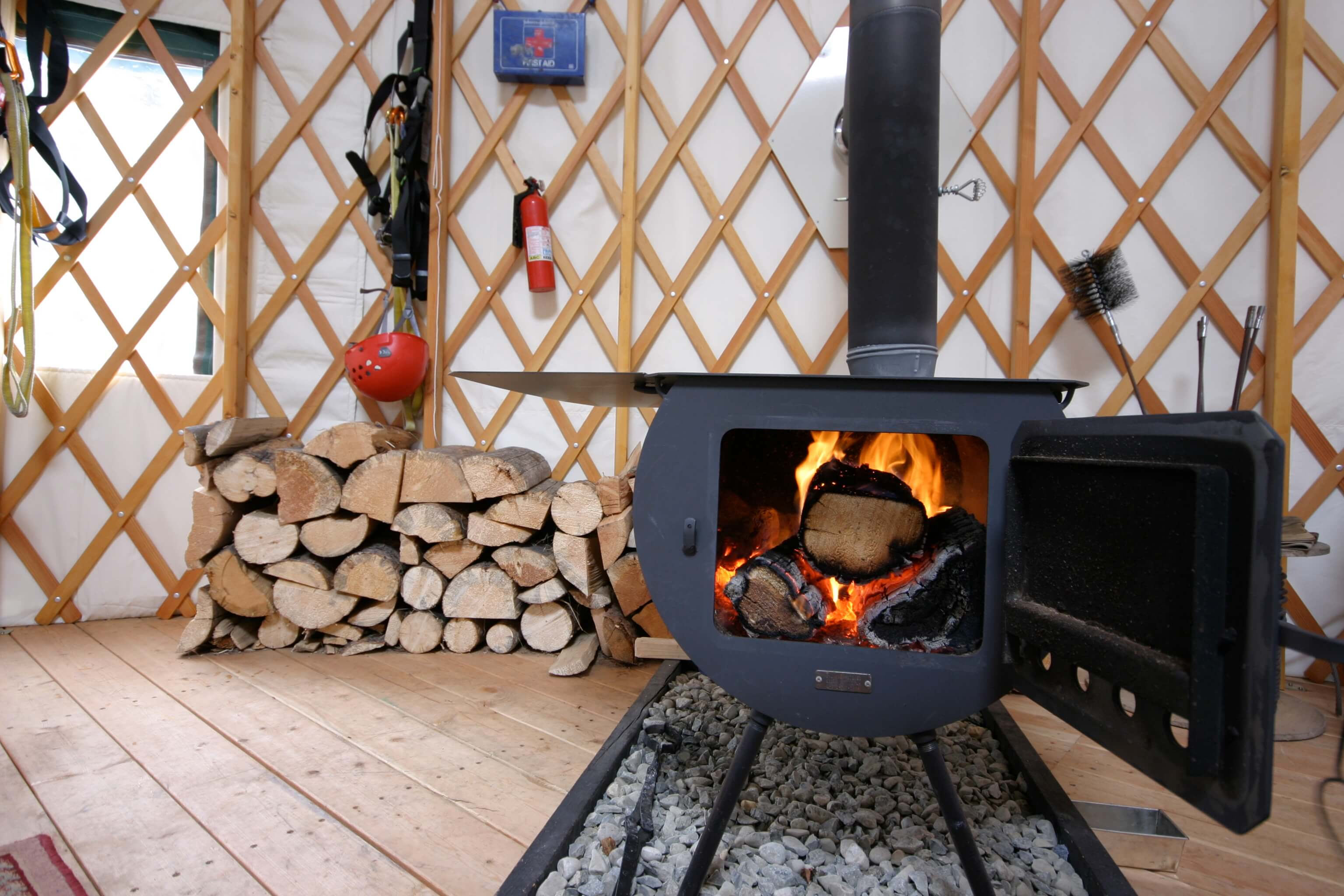 Yurt Stove Ideas