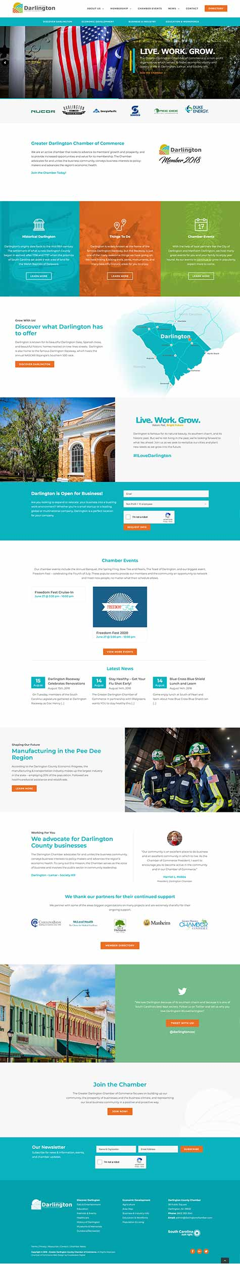 Web Design Digital Marketing Company Florence Sc Crowdedbox Digital