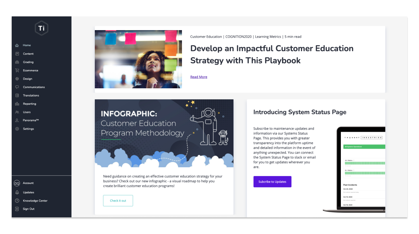 📚 How Thought Industries Built A Flexible Dashboard to Drive Product Engagement