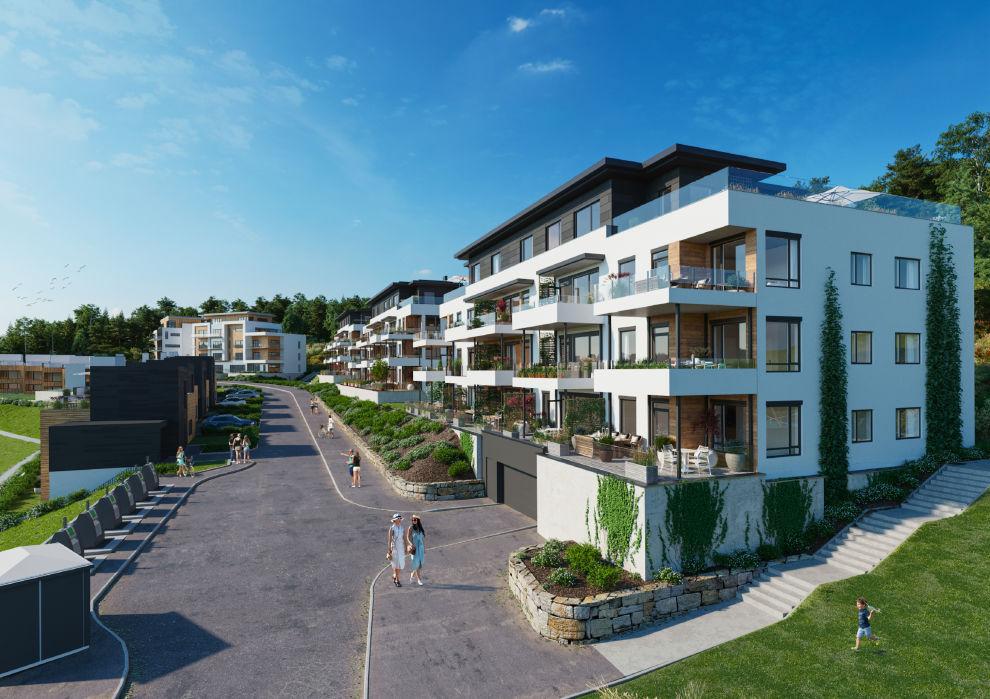 Tønnevollskogen - Ny og innovativ bydel i Grimstad