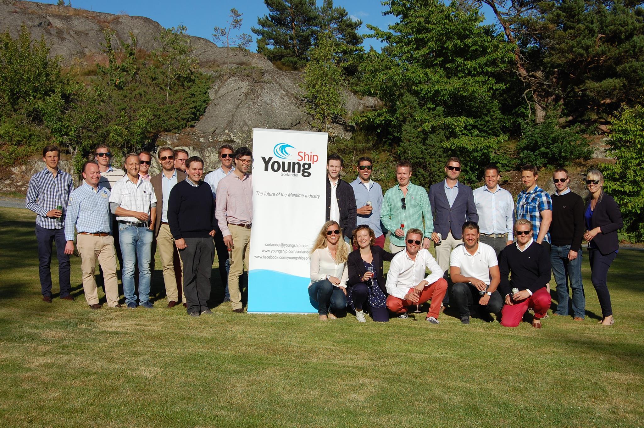 J.B. Ugland sponser YoungShip Sørlandet