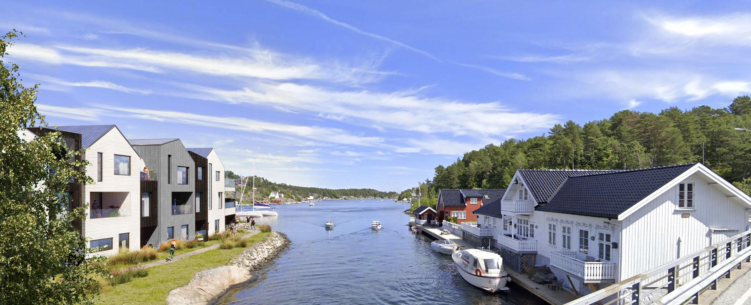 """J.B. Ugland Eiendom utvikler """"Holmen"""" i Kilsund"""