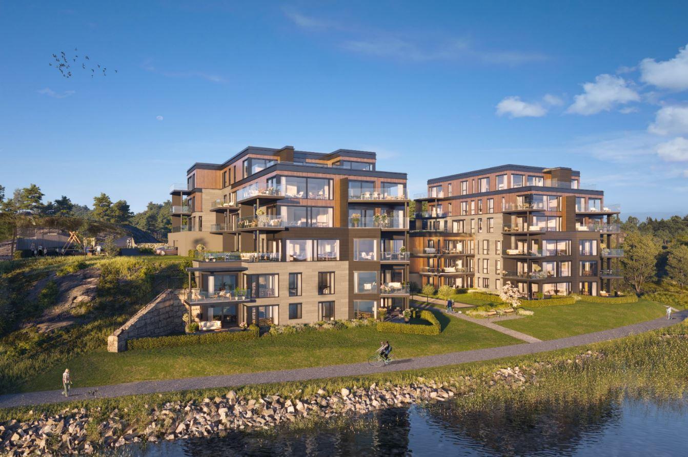 His Brygge - 14 av 34 solgte leiligheter ved salgsstart!