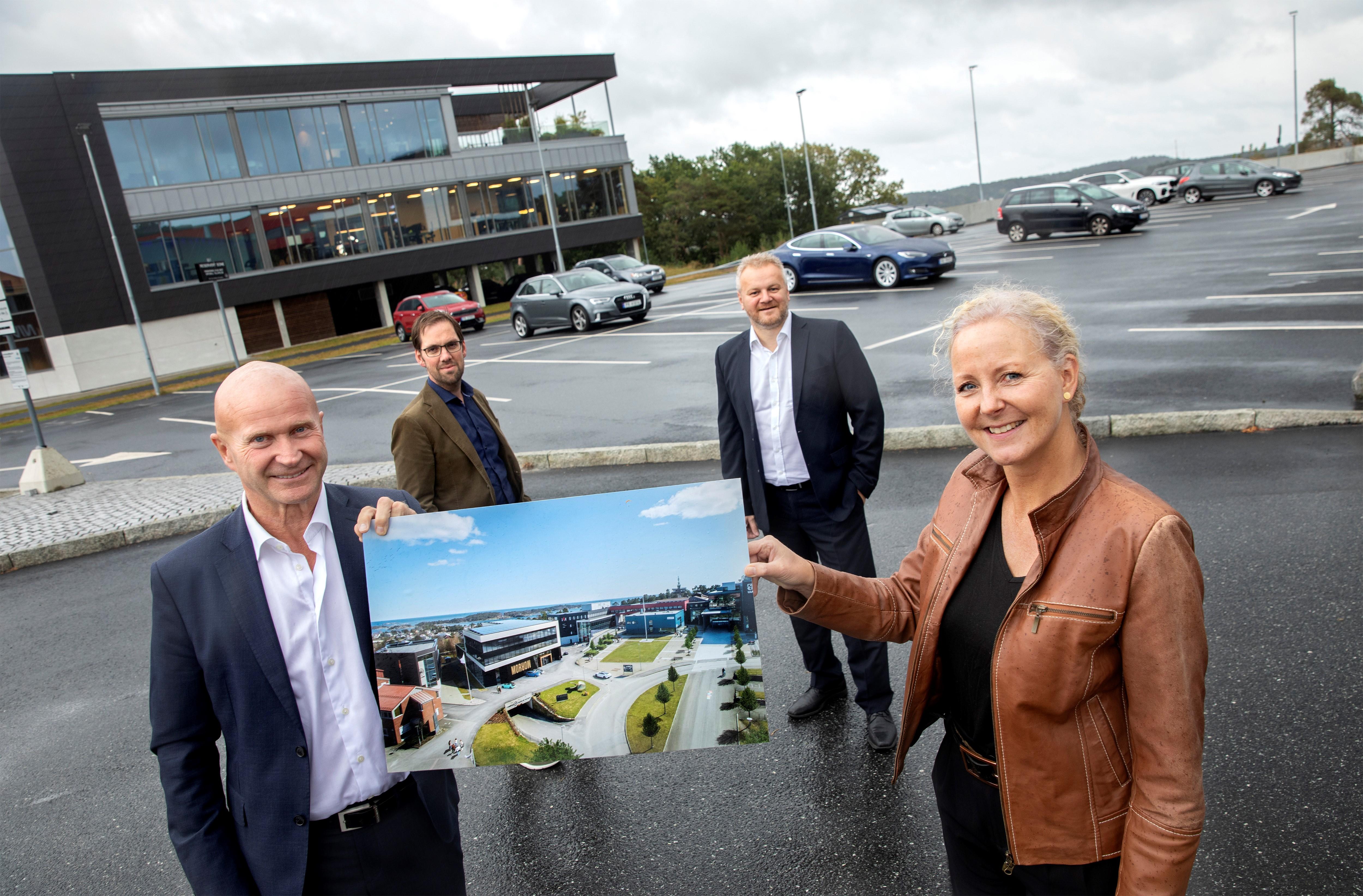 Morrow Batteries til Sørlandets Teknologipark - Campus Grimstad