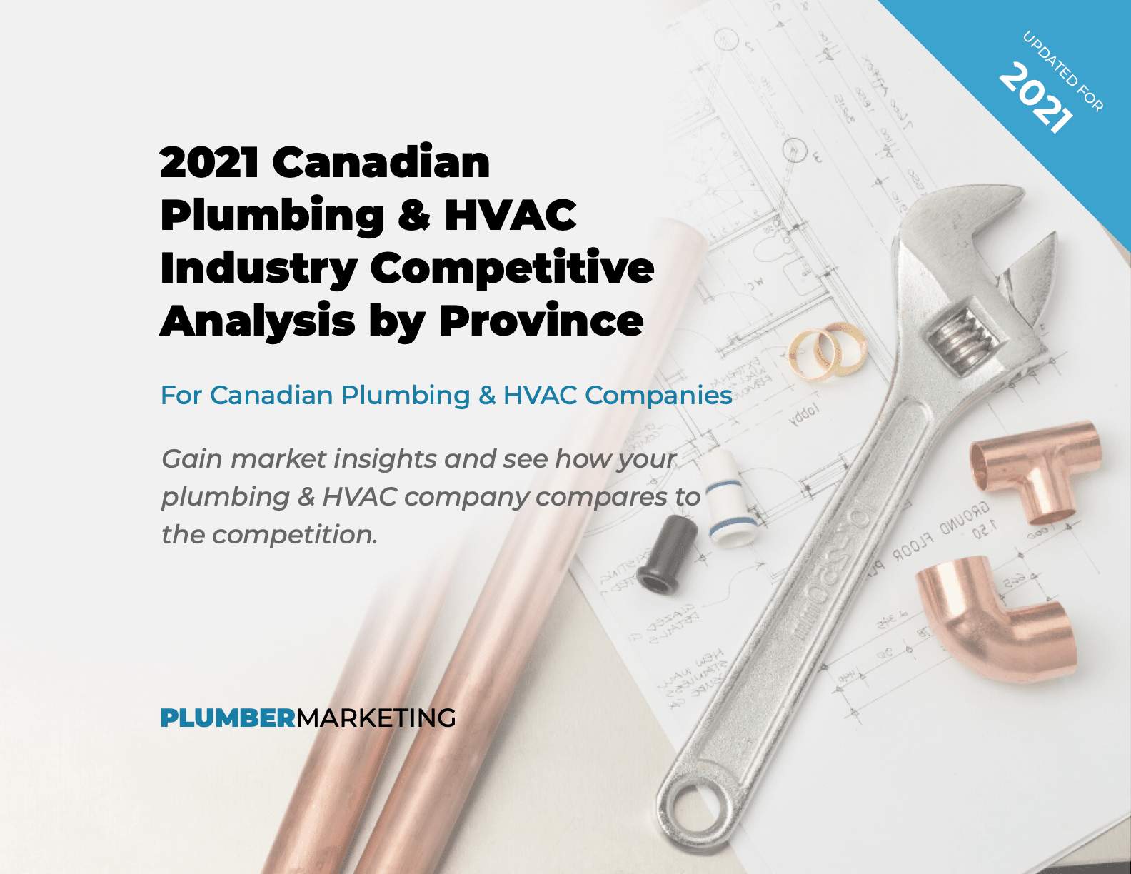 Cover of 2021 Canadian Plumbing & HVAC Competitive Analysis By Province