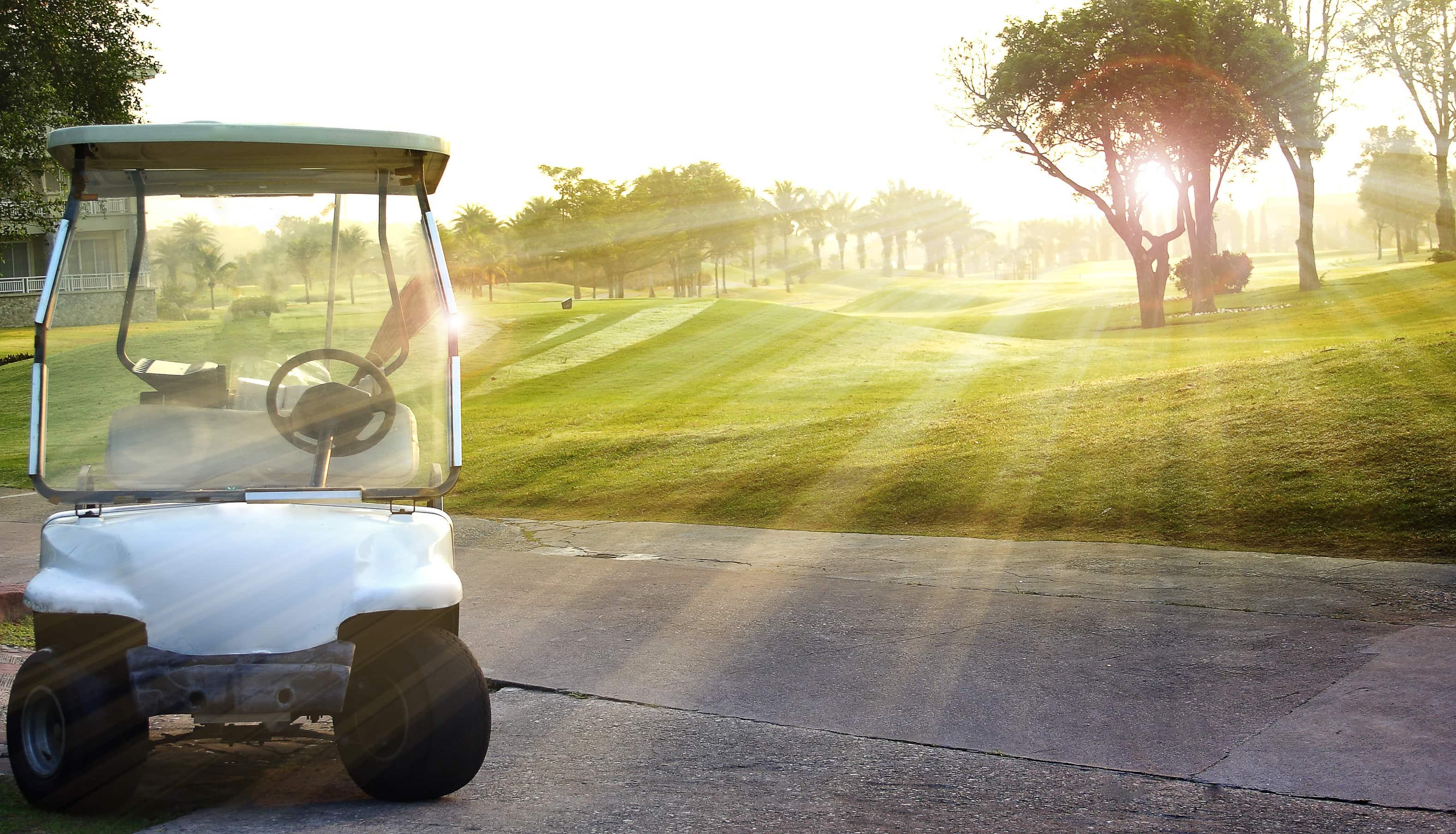 Hyr golfbil