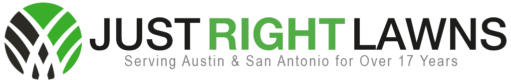 Just Right Lawns logo