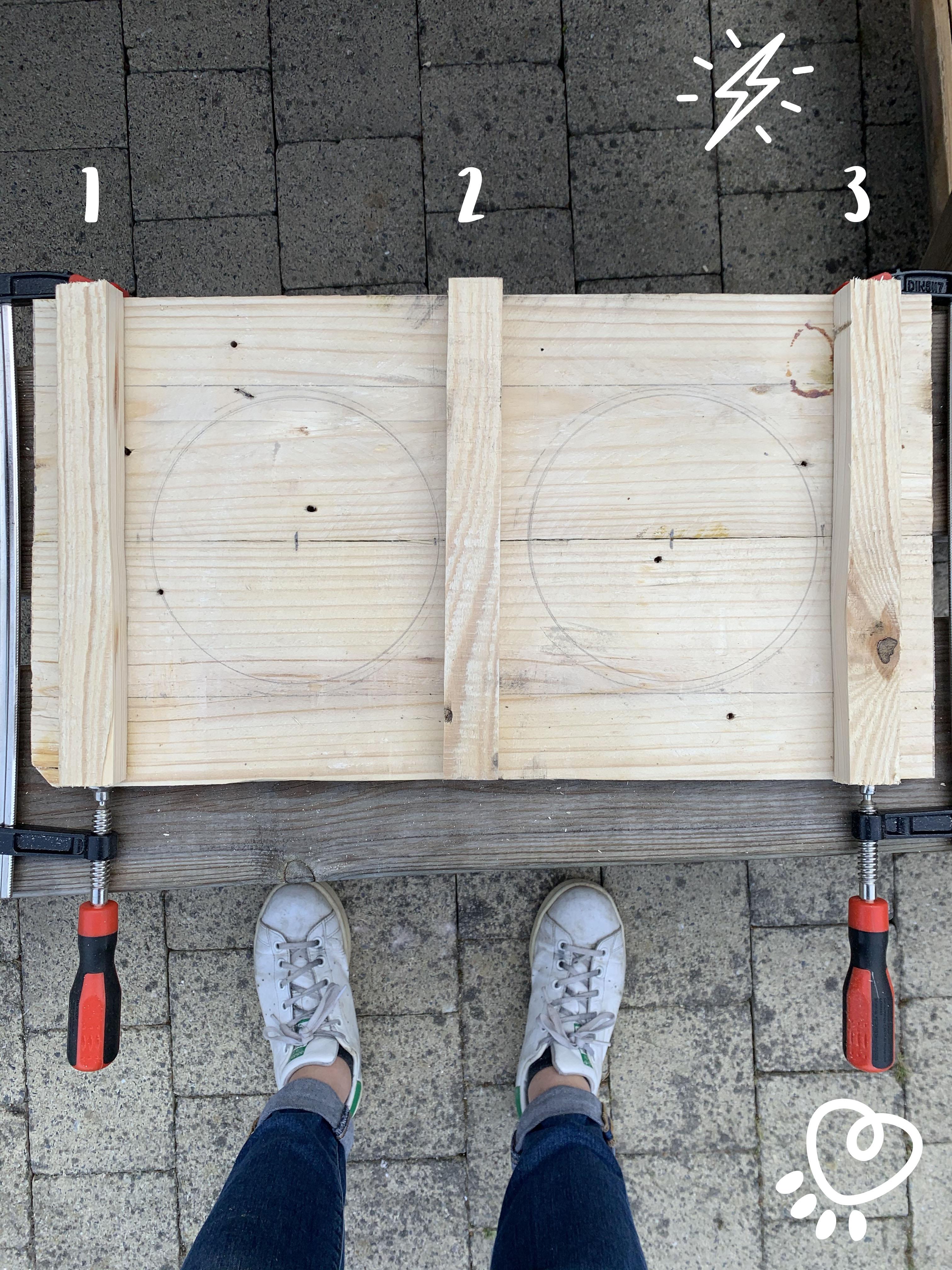 Construire un porte gamelle avec des palettes de récupération