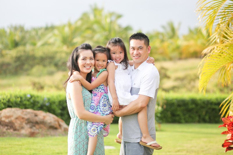 Dr. Pham and her family